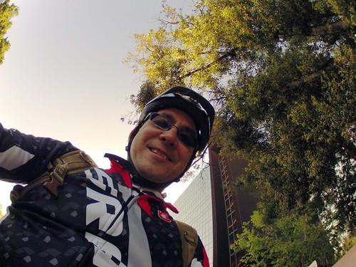 Me, in a helmet