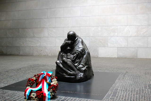 Monday: Mother and her dead son by Käthe Kollwitz