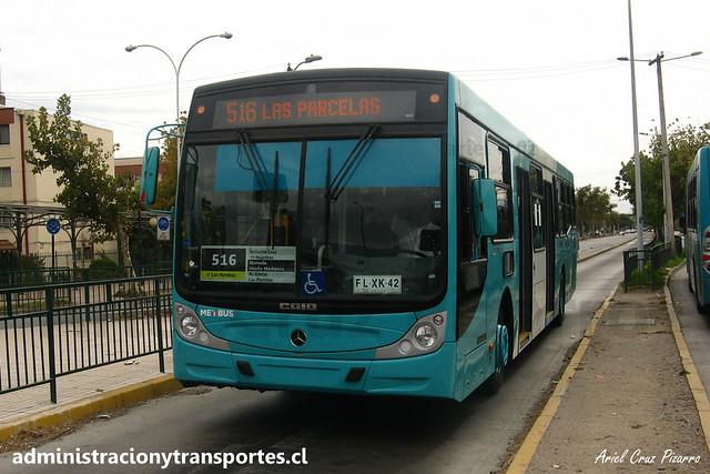 Transantiago - 516 | Metbus | Caio Mondego H - Mercedes Benz (FLXK42)