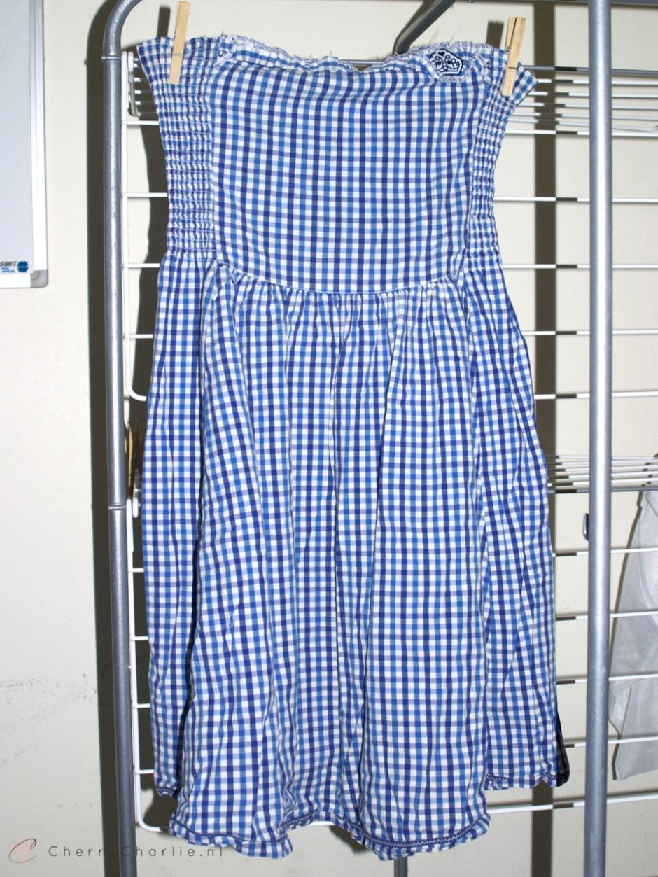 Before & after: Van strak jurkje naar passende rok, inclusief stappenplan • CherryCharlie.nl