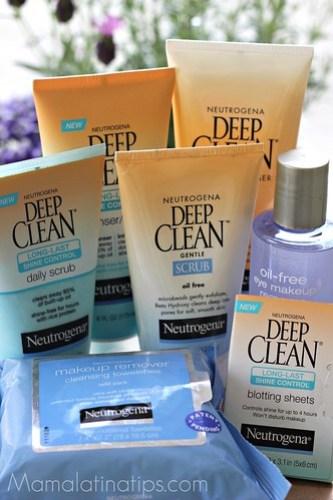 Neutrogena Deep Clean line