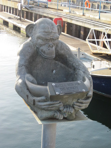 Hartlepool Monkey Statue