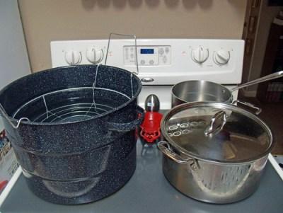 canning set up