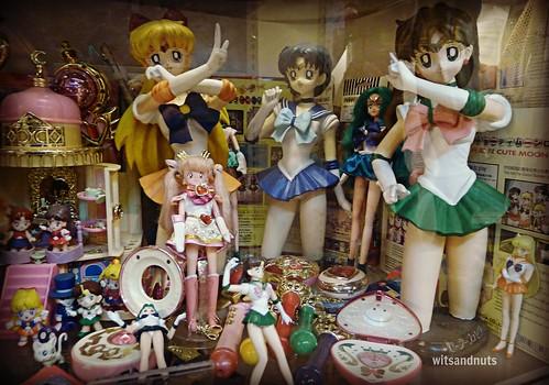 Sailoor Moon stuff, Penang Toy Museum