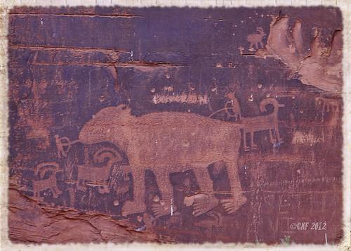 Potash Petroglyphs