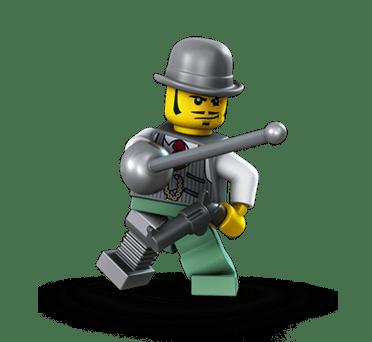 LEGO Monster Fighters Dr. Rodney Rathbone