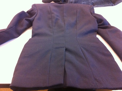 Back vent of Tailored Jacket