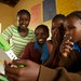 Judy Kinya teaching Class 7 students at Leparua Primary School