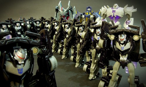 The Decepticon Army by Clement Soh