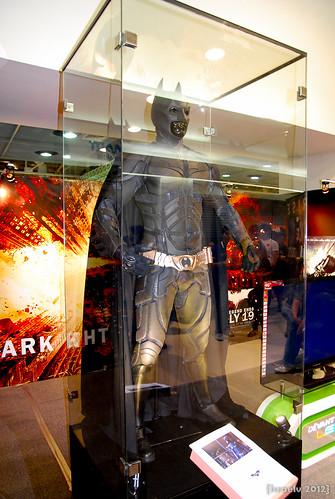 Christian Bale's Original Batman Costume by {israelv}