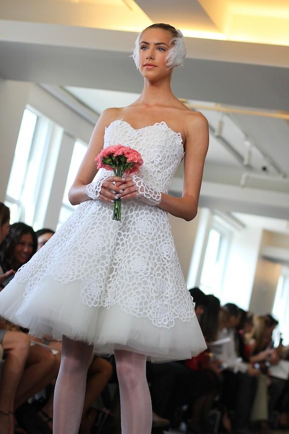 Oscar de la Renta Bridal 2013 84