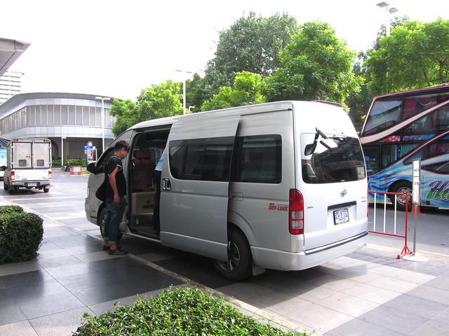 Mr. Chim's van