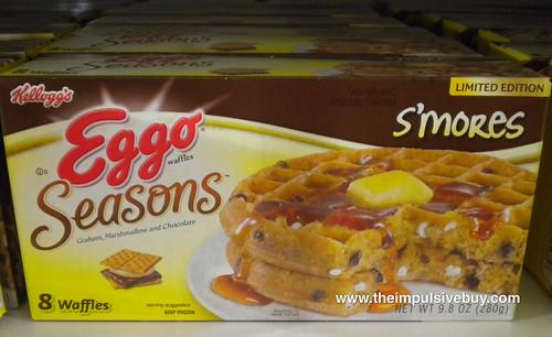 Kellogg's Eggo Seasons S'mores Waffles