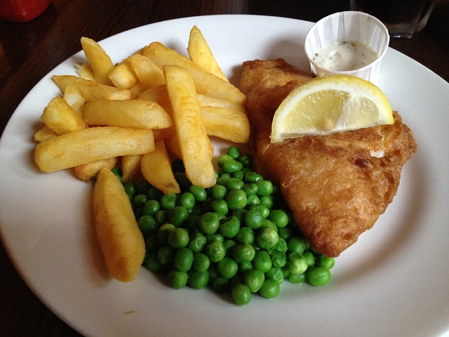 Fish and chips - The Lord Moon of the Mall