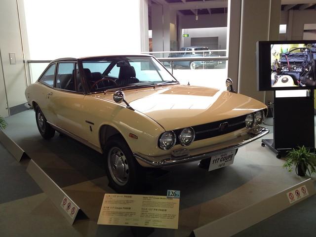 Isuzu 117 Coupe Model PA90, 1970