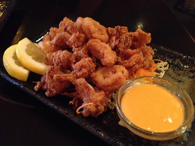 Fried calamari - Barracuda Sushi