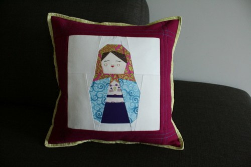 Matryoshka Doll Pillow