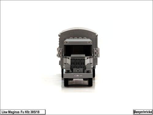 Camión Magirus Fu. Kfz305/18