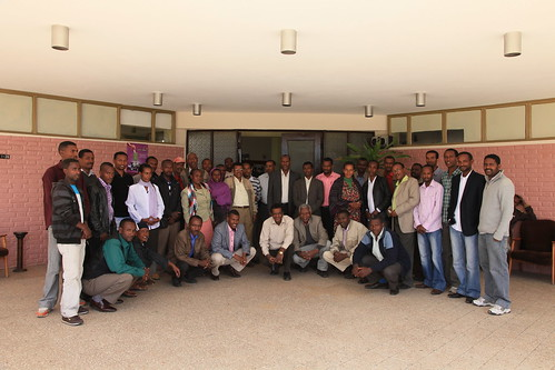 Participants of the Africa RISING project inception workshop