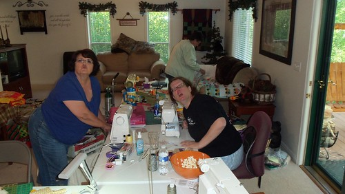 Quilting Retreat! by ruthiequilts