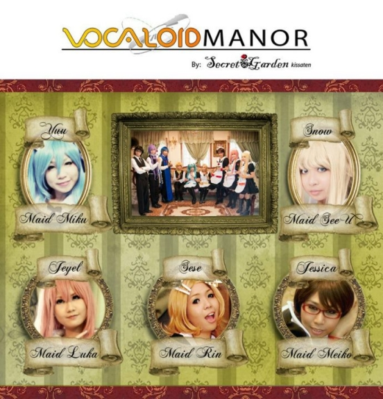Vocaloid Manor at Voca★Fusion: A Vocaloid and Yattemita Fan Event