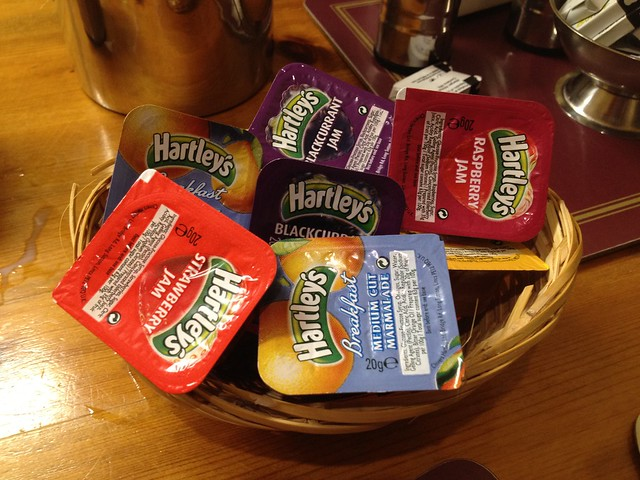 Assorted Hartley's jams and marmalades - The Abbott Lodge