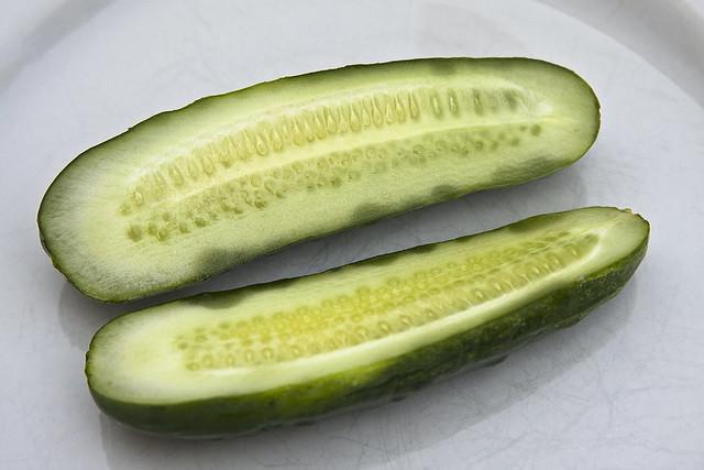 half-sour pickles