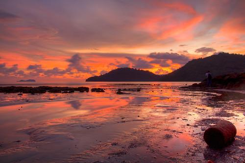 Sunset at Permatang Damar Laut
