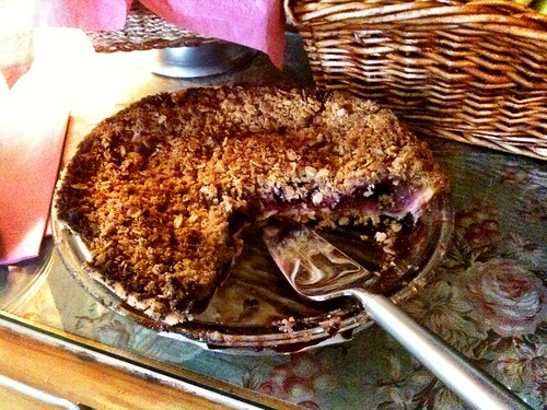 Pie for breakfast? Yes. Bumbleberry pie.