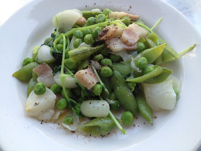 Peas and peas - Pizzeria Delfina