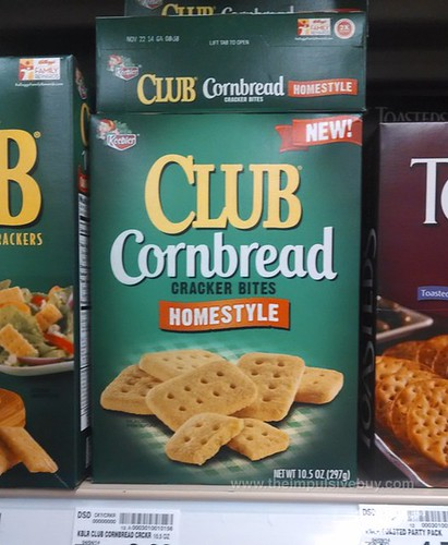 Keebler Club Cornbread Cracker BItes