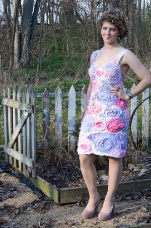 T-Shirt Flower Dress