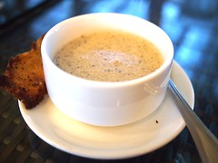 Mushroom Soup, Cornerstone Restaurant, Bishan Park 2