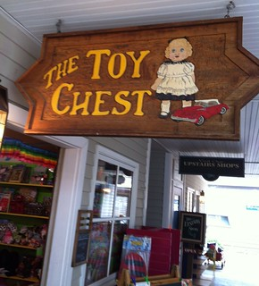 Toy Chest sign