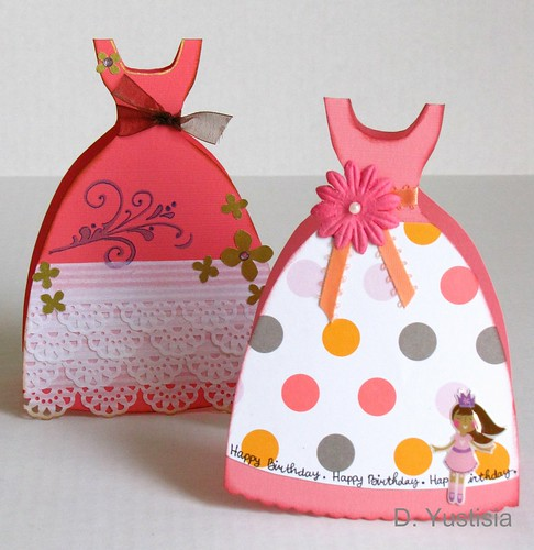 Paper Gowns - Card