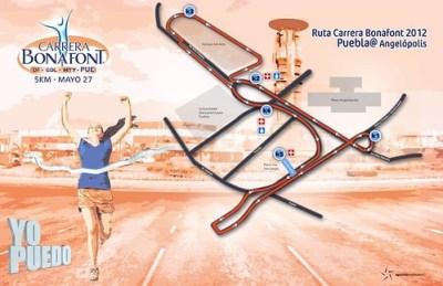 Ruta Carrera Bonafont 2012 Puebla