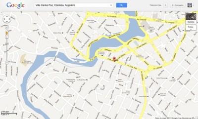 Google Maps Carlos Paz