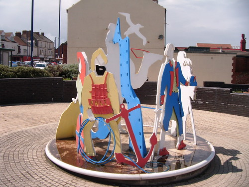 Redcar Figures Sculpture
