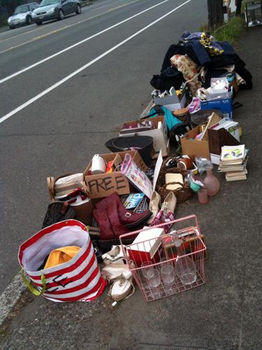 Massive free pile