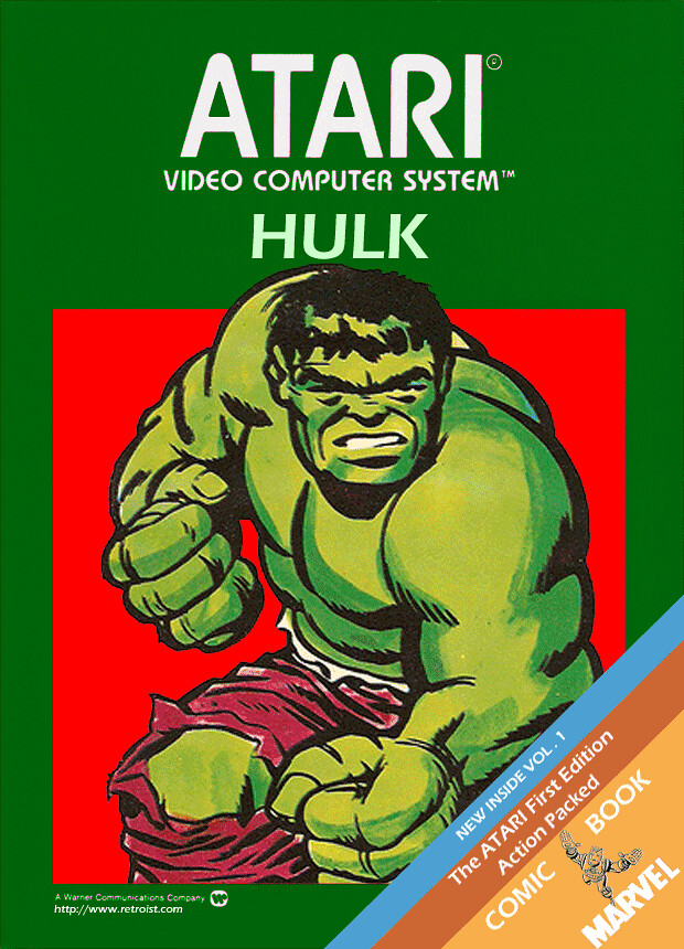 Hulk for the Atari 2600