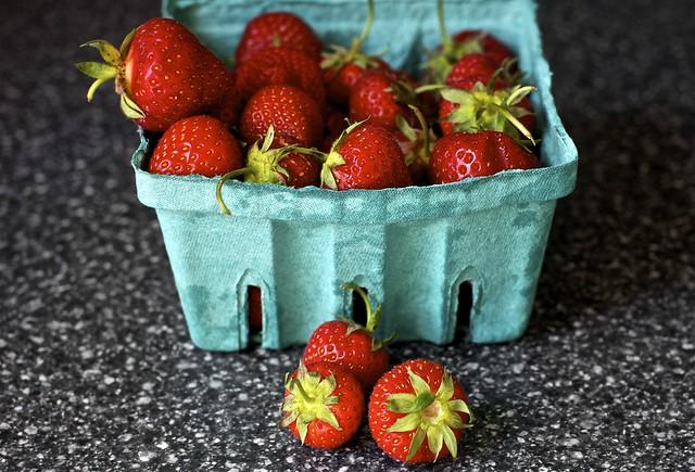 hello, strawberries! you were missed.