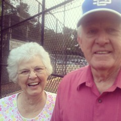 my grandparents make me smile.