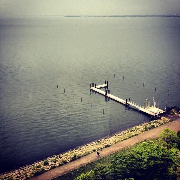 View of #lakebiwako #shiga #japan