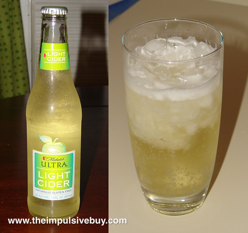 Michelob Ultra Light Cider Bottle