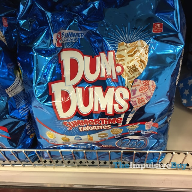 Dum Dums Summertime Favorites Pops