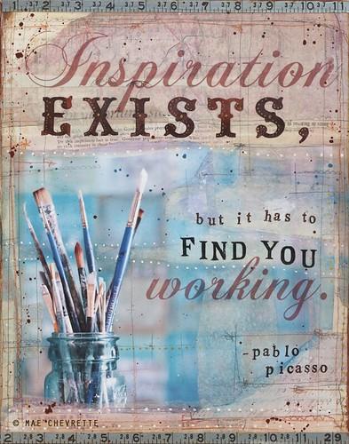 Inspiration by Mae Chevrette