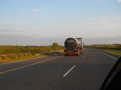 Guinness truck