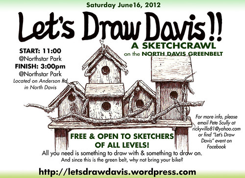 let's draw davis! june 2012