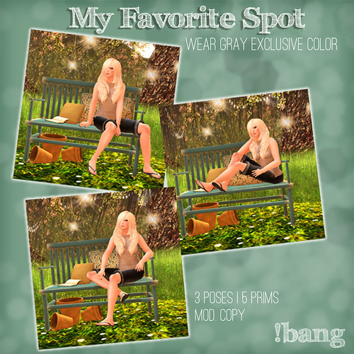 !bang - my favorite spot exclusive color