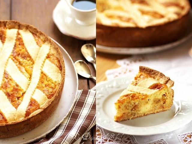 La mythique pastiera napoletana, typique de Pâques , Un déjeuner de soleil